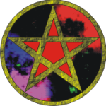 CLoudy Red Pentacle