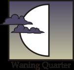 Waning Quarter moon