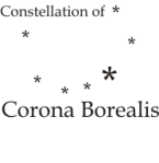 Astro Constellation Corona Borealis