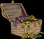 motif treasure chest