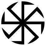 magick motif slav Kolovrat Rodnover