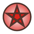pentacle mabon 1in