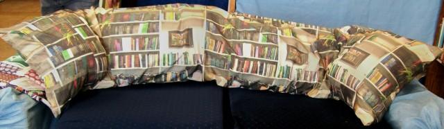 pillow witchs bookshelf