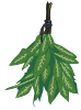 plant motif hanging herb
