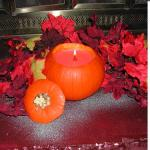 pumpkin candle 2
