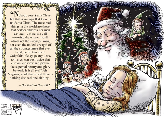newsletter holiday yule Cartoon Santa