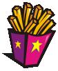 motif junk food Fries