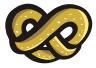 motif junk food pretzel