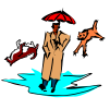 weather rain cats dogs