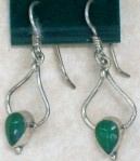 product earring QZ amazonite 12