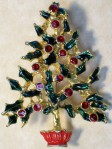 motif-plant-tree-xmas pin