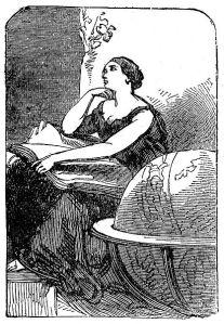 feast Hypatia_-_mid_19th_century_engraving