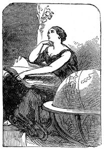 feast Hypatia_-_mid_19th_century_engraving
