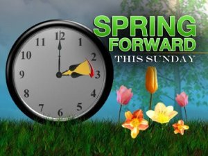 Spring forward reminder