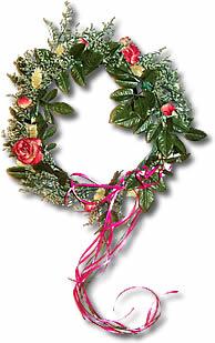 wreath beltane magic 041913