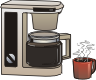 motif house coffeemaker