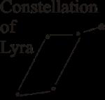 Lyra astro constellation Vega