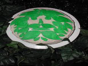 Magick 050513 Green Man Cake