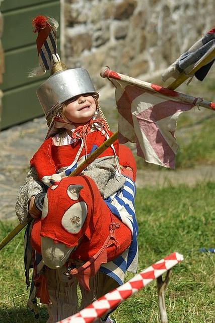 cute knight costume