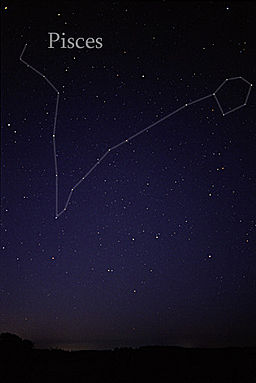 Pisces naked eye astro constellation