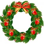 Yule motif 1207 01 wreath
