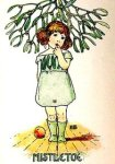 Yule motif 1207 08 mistletoe child