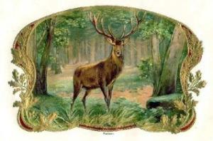 Yule motif 1207 14 King Stag