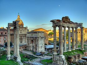 Saturnalia Temple of Saturn