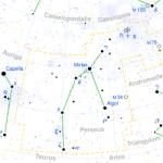 Perseus astro constallation Algol