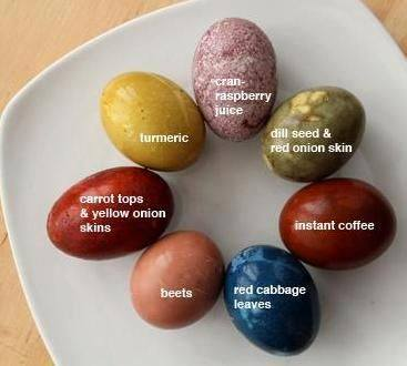 ostara craft egg dye
