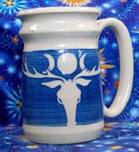 moon stag mug 040314