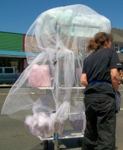Gotta have cotton candy!