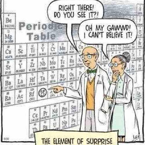 funny element of surprise