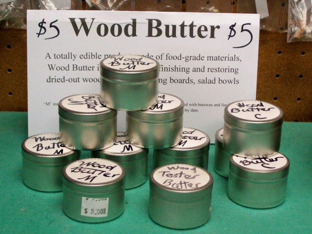 wood butter display 053114
