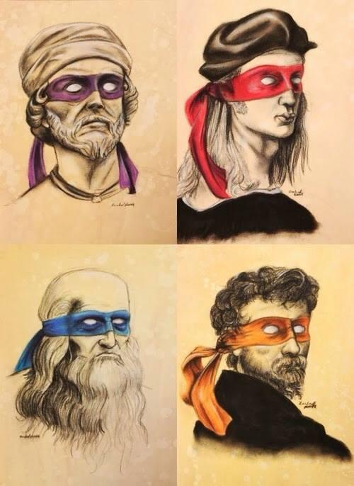 the ninja painters