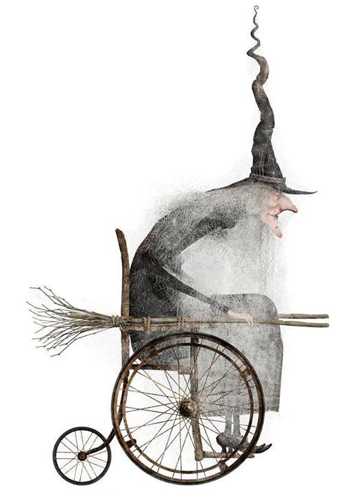 wheelchair witch