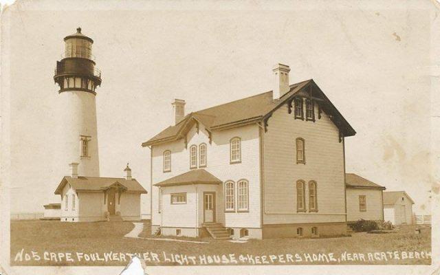 1910 - Foulweather Light Yaquina