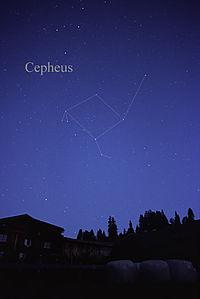 astro Cepheus consellation