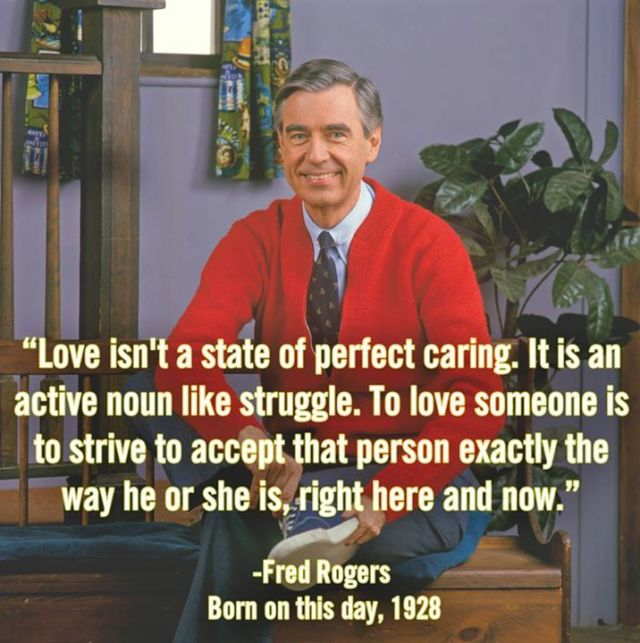 Mr Rogers Love