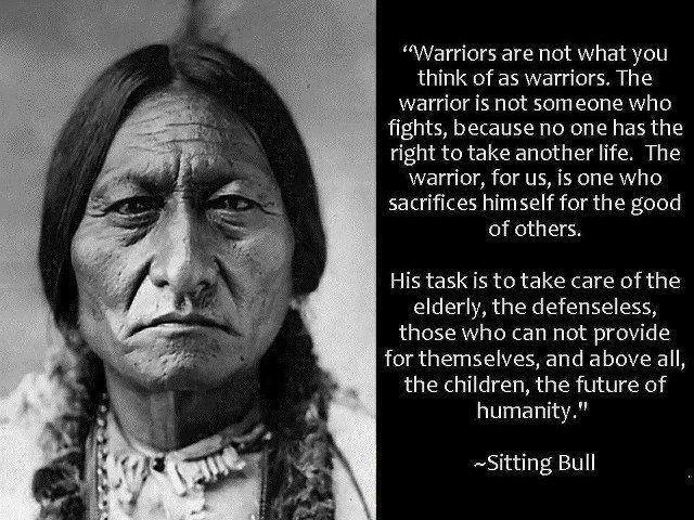 Sitting Bull wisdom warrior