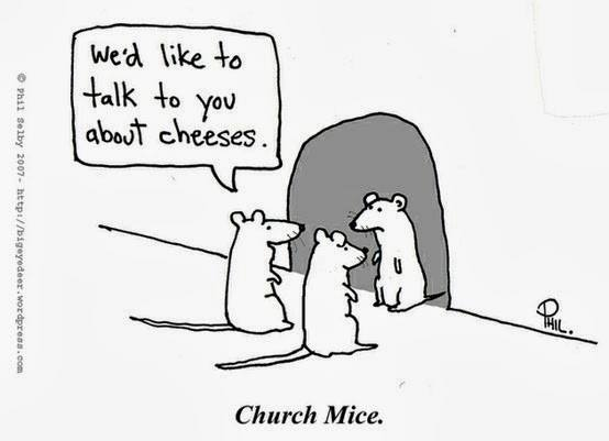 Church Mice funny