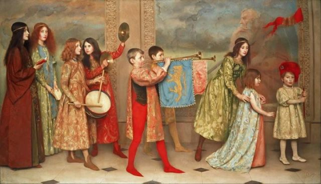 A Pageant of Childhood 1899 Thomas Cooper Gotch