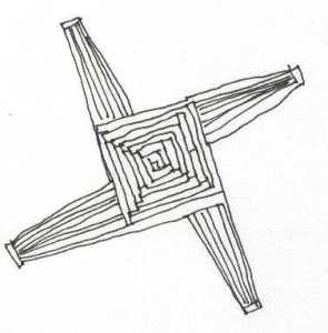 Brigdhe's Cross Imbolc