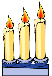 Imbolc motif Candles