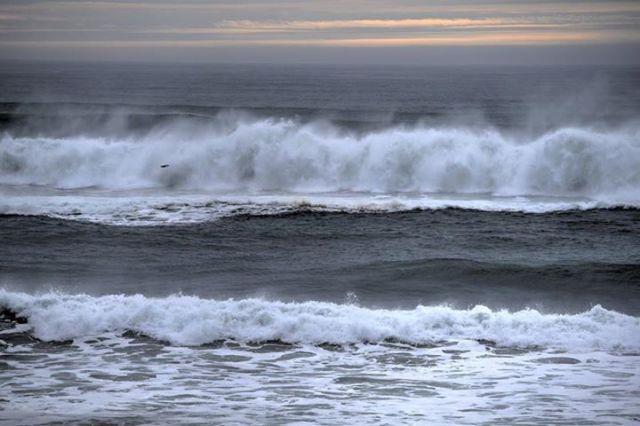 Ken Gagne 012315 Sunset waves