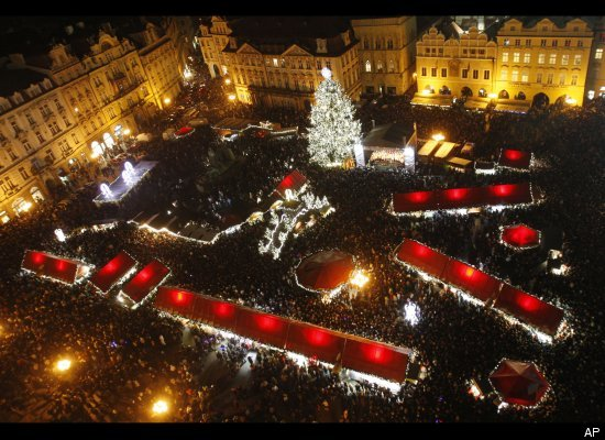 Old Town Square Prague Xmas
