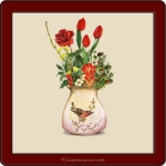 plant motif Flower_1