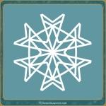 motif SnowFlake_2