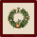 Yule motif Wreath_3