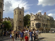 0210 Oxford Scholastic Day Riot Carfax tower